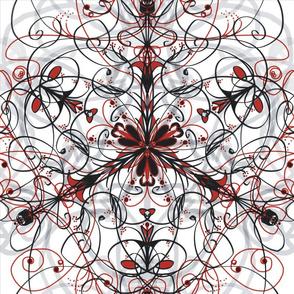 Kaleidoscope RedBlackGrey