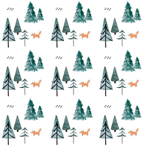 SPOONFLOWER FOX
