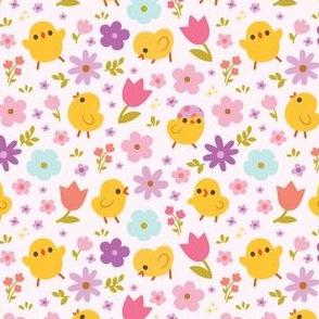 Baby Chicks Spring Florals