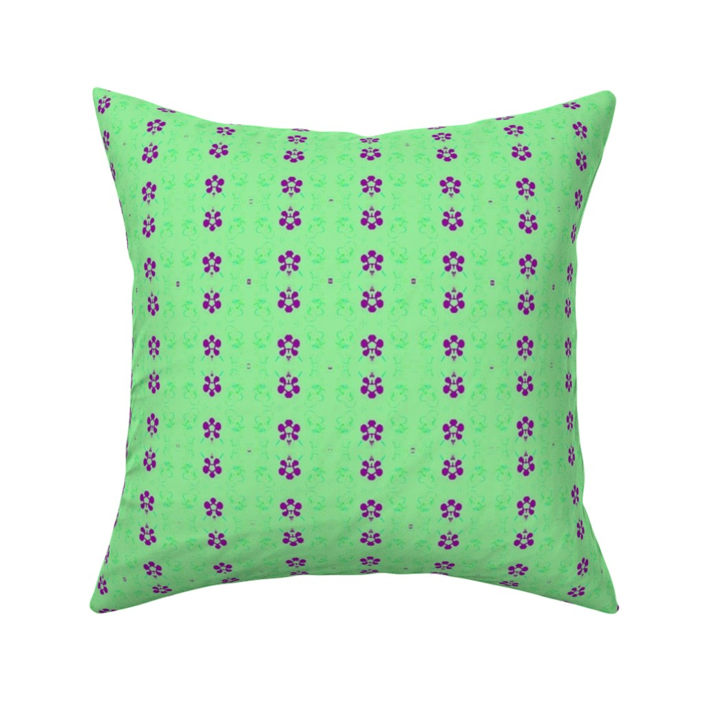 Catalan Throw Pillow featuring NeonSion 19 by colortherapeutics