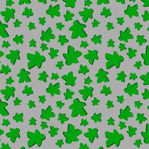 Green meeple toss