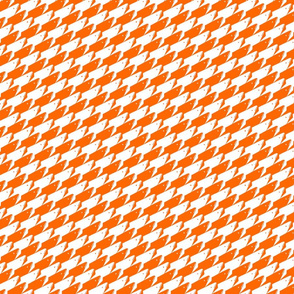 Baby Sharkstooth Sharks Pattern Repeat in White and Orange