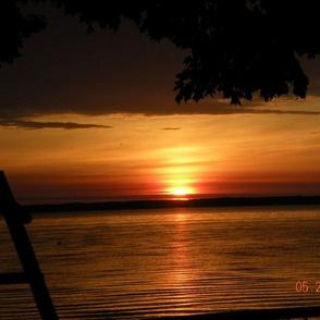 Sunrise on Mullet Lake