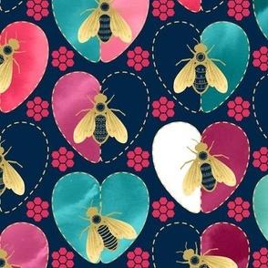 Honey Bee Dance and Hearts