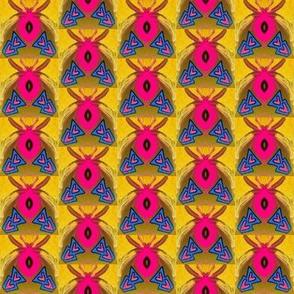 pink spider blue triangle 2