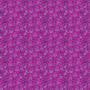 striped swirls--hot pink