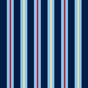 Nautical Theme Stripes