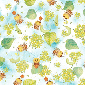 Linden and the bees
