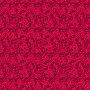 rose garden deep rose