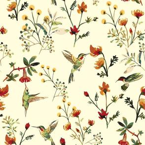 Spring has Sprung (Vintage yellow)