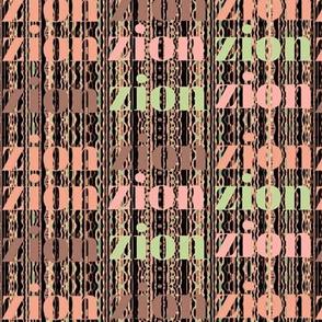 Zion - A splash of green :)