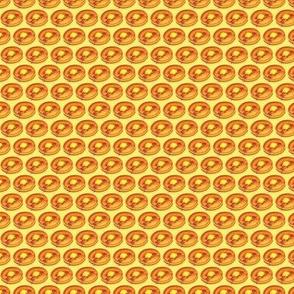 """Pancakes - .5"""" Yellow"""