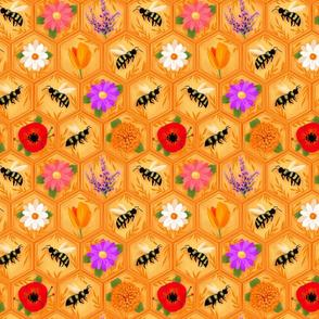 Honeybee Blooms