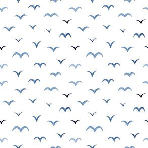 Abstract Minimal Bird Pattern