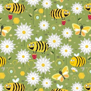 Busy Bees and Butterflies