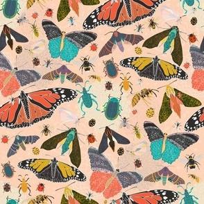 Summer Garden Pollinators - Large Scale