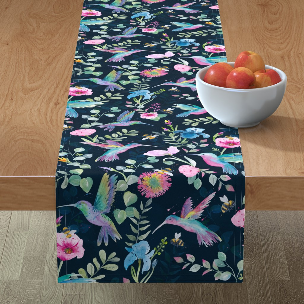 Minorca Table Runner featuring Cindy-Lee by gingerlique