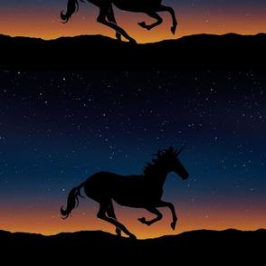 unicornin the night