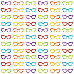 Colorful eyewear goggles or sunglasses for summer