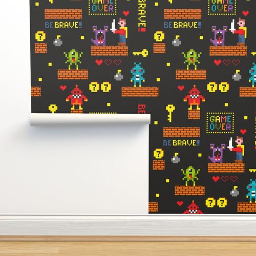 Wallpaper Pixel Game
