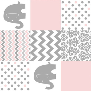 pink grey Elephant rotated PW