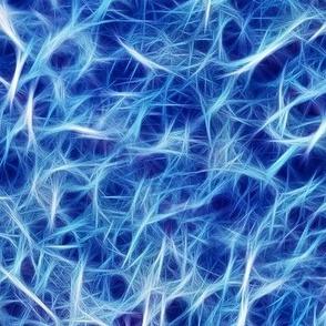 Ice Fibers Blue
