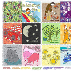 Rainbow Rag - A babies first book