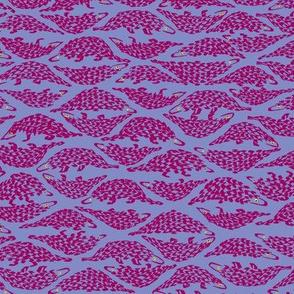 Pangolins - pink/small