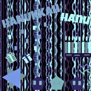Hanukkah  -Blue