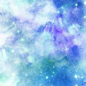 """Blue Galaxy 24"""""""