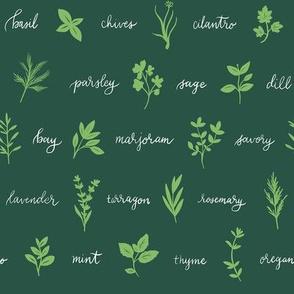 Kitchen Herbs 03
