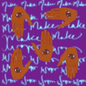 Art Hands - Purple