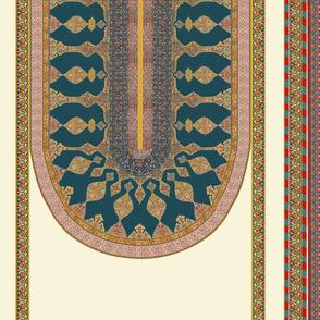 Ottoman tent scale model