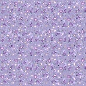 Micro Menhera Needles on Purple