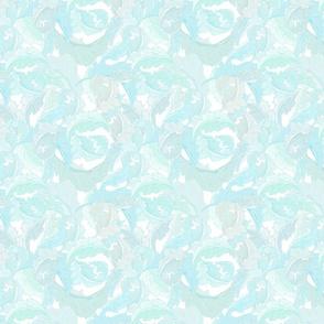 William Morris Leaves in Mint & Blue