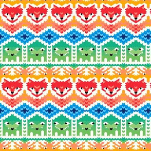 Fair Isle Foxes and Monsters (small)