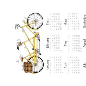 2012 Yellow Tandem Calendar