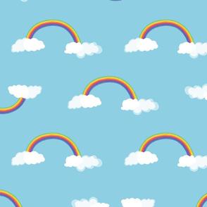 Rainbow pattern 3-50x50cm-RGB