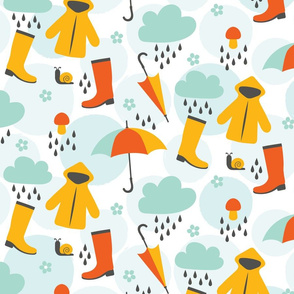colorful april shower