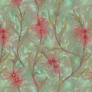 Red Gum Flowers Aussie Florals