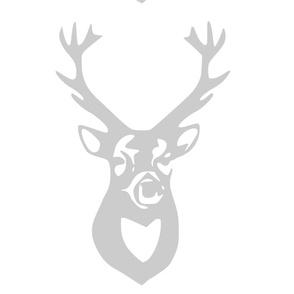 large_gray_deer