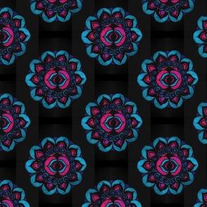 Third Eye Chakra Textile Pattern