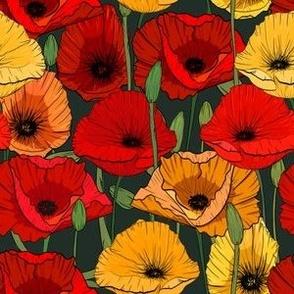William Morris Poppies