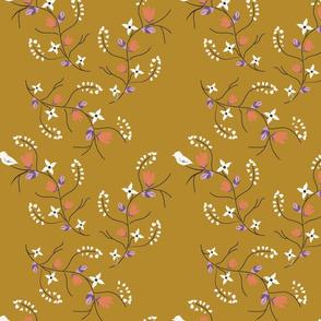 Spring Tweets on Mustard
