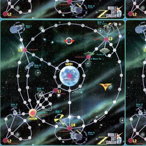 Gundam Map for Game