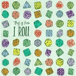 How I Roll - Green LG