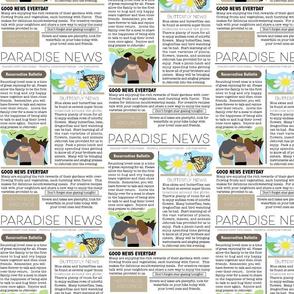 Paradise News Large Print