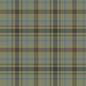 """MacDonagh tartan - 8"""" faded"""