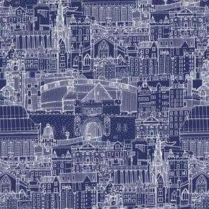 Edinburgh toile blueprint tiny