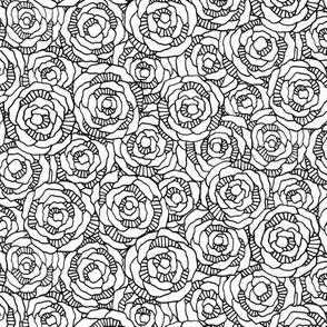 Modern Blossom - White - Small